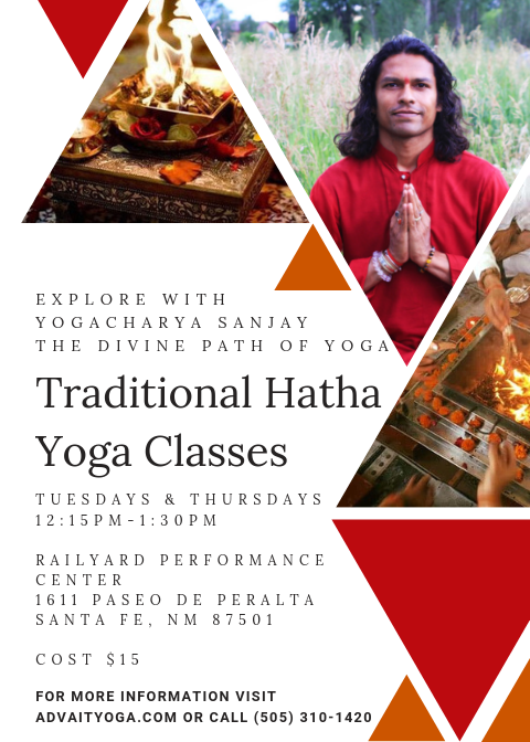Traditional Hatha Yoga Class @ Railyard